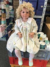 Linda M. Beitz Vinyl Puppe 75 cm. Top Zustand