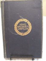 THE COMPLETE POETICAL WORKS OF HENRY W. LONGFELLOW: CAMBRIDGE ED. 1893