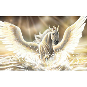 Full Drill Flying God Horse 5D DIY Diamond Painting Embroidery Home Wall Decor