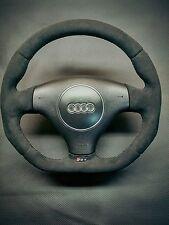 Steering Wheel Audi RS4 B5 NEW ALCANTARA !! STUNING FLAT BOTTOM