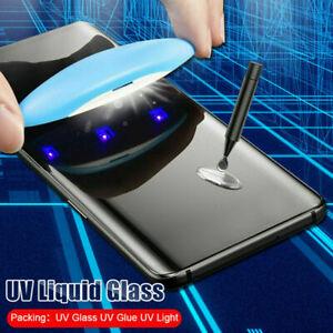 UV Tempered Glass Full Liquid Glue Screen Protector For Samsung Galaxy S20 Plus
