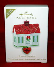 """HALLMARK ORNAMENT  2011 """"FOREVER FAMILY""""  COMES WITH 4 STICKERS"""
