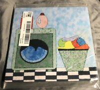 "Brand New Factory Sealed 8""x 8"" Blue Mouse Pad"