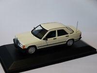 Mercedes Benz 190E berline de 1984  au 1/43 de Minichamps / Maxichamps