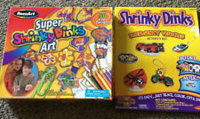 Shrinky Dinks Emergency Vehicle & Super Art 2 Items New In Packages