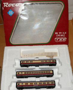 ROCO 14183A BR VT 11.5 601 3-teiliger Triebzug Spur H0