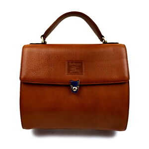 Burberrys Hand Bag  Browns Leather 1606331
