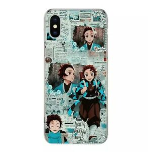 Rare Demon Slayer Anime Cover Phone L) Case For Iphone 11 12 pro max X XR XS 8 7
