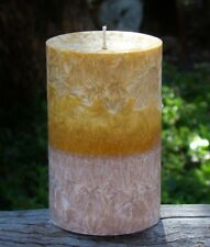 200hr PEPPERCORN SPICE Triple Scented Mens Fathers Day Natural Pillar CANDLE