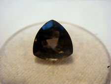 Smoky Quartz Trillion cut Gemstone 9 mm x 9 mm 2.5 carat Natural Gem