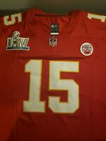 Patrick Mahomes Super Bowl Jersey With Tags