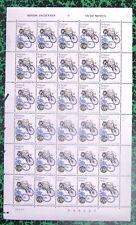 Planche complète 30 timbres 1995 (14b) Motos Anciennes TTBE Belgique