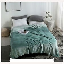 Soft and Warm Coral Fleece Blanket Bed Sheet Bed Cover Flannel Powder Blanket