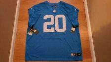 Nike - Detroit Lions Barry Sanders Dri-Fit On Field Jersey - Blue - Men's 3XL