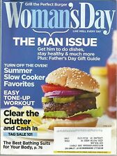 Woman's Day June 2010 The Man Issue/Tag Sale 101/Summer Slow Cooker/Bathing Suit