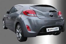 Chrome Fuel Gas Cap Cover For 11 12 13 14 15 Hyundai Veloster