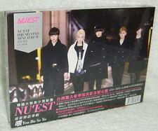 NU'EST Mini Album Vol. 2 Yeo Bo Se Yo Taiwan Special CD+DVD