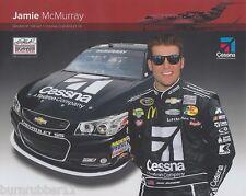 "2013 JAMIE MCMURRAY ""CESSNA #1"" NASCAR SPRINT CUP SERIES POSTCARD"