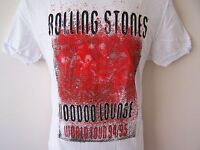 *NEW TAGGED* AMPLIFIED ROLLING STONES VOODOO LOUNGE WHITE MENS T SHIRT S M XL