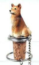 Finnish Spitz Dog Wine Stopper