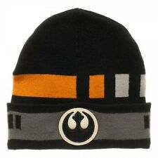 Star Wars Black Squadron Cuff Knit Beanie Hat