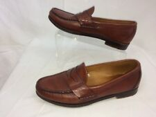 FOOTJOY PENNY LOAFERS LEATHER BROWN MENS Sz 8 D