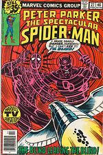 Spectacular Spider-Man #27 - 1st Frank Miller Daredevil Art  - 1979 (Grade 7.0)