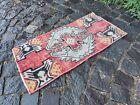 Carpet, Doormats, Small rug, Vintage handmade rug, Wool rug   1,3 x 2,5 ft