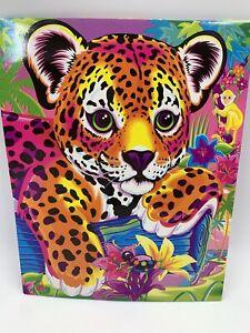 Lisa Frank Pocket Folder Hunter Leopard Cub Moombagoomba Bug NEW READ