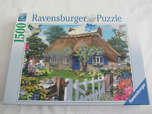 Ravensburger 1500 Piece Jigsaw Puzzle 'Cottage in England'
