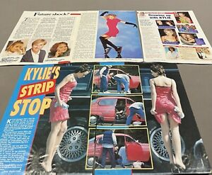 40 KYLIE MINOGUE CLIPPINGS  ** 1980s TO NOW **