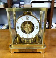 Vintage 1960's Jaeger LeCoultre Atmos Shelf Clock # 144060 Working See Desc.