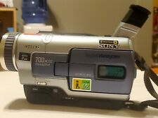 Sony Dcr-Trv230 Digital 8 Camcorder W Remote, Battery, Power&VideoCable Sony Bag