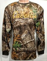 Cabela's Realtree Edge Fleece Hunting Fishing Camping Hiking Performance Jumper