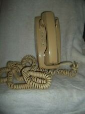 Vintage Western Electric At&T Beige Push Button Wall Mount Telephone