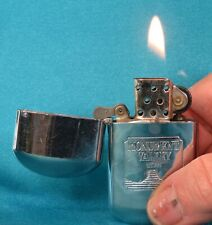 """Collectable Vintage """"Monument Valley Utah"""" Chrome Lighter. Working!"""