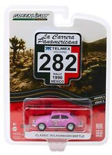 1:64 GreenLight *LA CARRERA PANAMERICANA 2* Pink Classic Volkswagen Beetle NIP