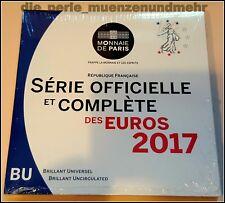 Offizieller KMS Frankreich 2017. Neu original verpackt / Folder BU