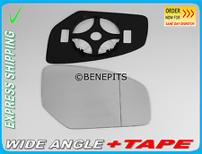 Wing Mirror Glass HONDA CIVIC 2012-2016 Wide Angle + BP + TAPE Right Side /JH039