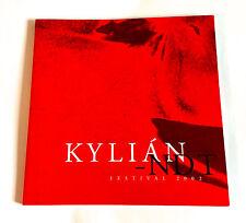 KYLIAN-NDT FESTIVAL 2002 JAPAN SOUVENIR PROGRAM BOOK Jiri Dance Company