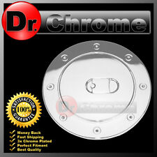 07-14 Chevy Suburban+Tahoe+Avalanche Triple Chrome ABS Fuel Gas Cap Door Cover