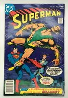 SUPERMAN #313 DC 1977 BRONZE AGE COMIC OVER MY DEAD BODY