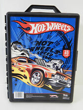 HOT WHEELS 2010 48 CAR CARRYING CASE, IN VERY GOOD CONDITION