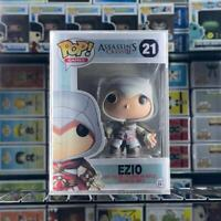 "Funko Pop! Assassin`s Creed Ezio #21 Rare Vaulted Retired ""MINT"" With Protector"