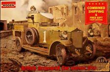 Roden 803 - 1/35 - British Armoured Car(Pattern 1914) WWI plastic model kit
