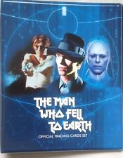 David Bowie the man who fell to earth ultra rare official binder with 54 cards