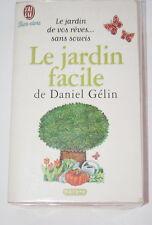 Le Jardin Facile,GELIN,J'ai Lu,1998,Arbre-Fleur-Plante