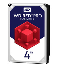 "NEW Western Digital WD Red Pro 4TB 7200RPM SATA 3.5"" Internal NAS Hard Drive HDD"