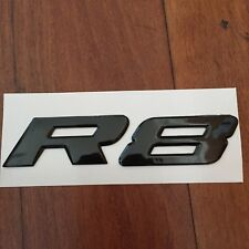 Gloss Black HSV VY VZ R8 Clubsport Maloo Badge