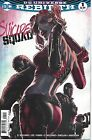 SUICIDE SQUAD #1 VARIANT COVER LEE BERMEJO HARLEY QUINN COMIC BOOK REBIRTH NEW